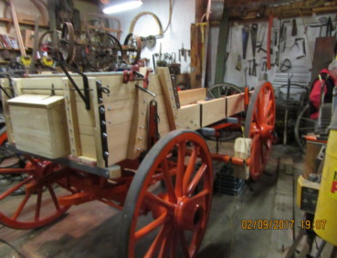 Wagon Restoration 6